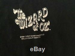 Vintage 90s T Shirt The Wizard Of OZ Stanley Desantis Movie Tee Promo Rare
