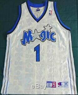 Vintage Authentic Champion Tracy TMac McGrady Orlando Magic Stars NBA Jersey