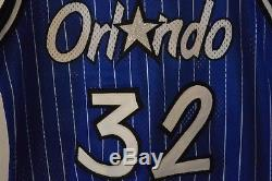 Vintage Authentic NBA Orlando Magic Shaquille O'Neal Champion Jersey Mens 44 L