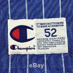 Vintage Champion Anfernee Penny Hardaway Magic Reversible Pinstripe Jersey Sz 52