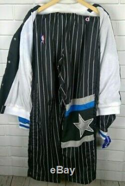 Vintage Champion NBA Orlando Magic Tear Away Basketball Pants Warm-Up Set New