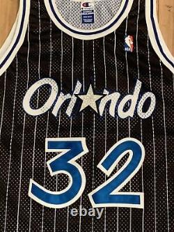 Vintage Champion Orlando Magic Shaquille ONeal Authentic Jersey Mens XL (48)
