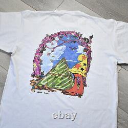 Vintage Cheech Wizard Shirt XL Vaughn Bode Toons Comic Graffiti 90s 80s Marvel