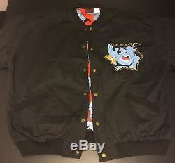 Vintage Disney Genie Aladdin 1993 Magic Carpet Tour Jacket Size M Excellent