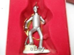 Vintage Lenox Wizard Of Oz- Very Rare The Tin Man Ornament With Org. Box