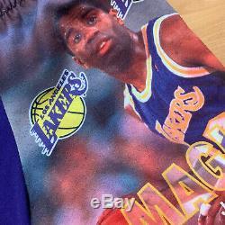 Vintage Magic Johnson Los Angeles Lakers Starter Shorts Mens Small NBA Rare Kobe