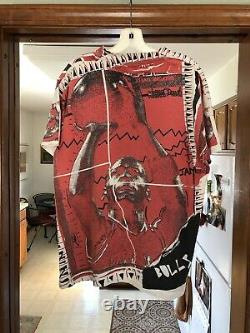Vintage Magic Johnson Ts Michael Jordan All Over Print T Shirt L Chicago Bulls
