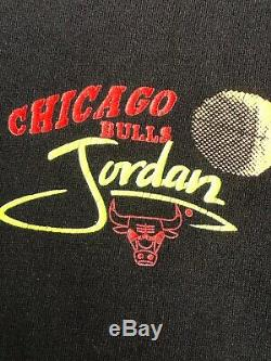 Vintage Magic Johnson Ts Michael Jordan Hang Time Double Sided T-shirt Sz Large