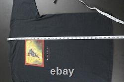 Vintage Magic The Gathering Shirt 90s MTG Black Nightmare Card Art Tee Large