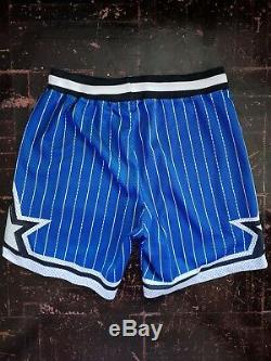 Vintage NBA Champion Orlando Magic authentic shorts blue L Penny Shaq