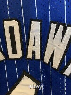 Vintage NBA Orlando Magic Penny Hardaway Champion Authentic Jersey Sz 48 XL Nike