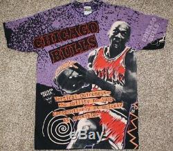 Vintage NWOT Michael Jordan T-Shirt. By Magic Johnson T'S. Size XL