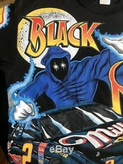 Vintage Nascar #2 Rusty Wallace Black Magic All Over Print T Shirt Men's Med USA