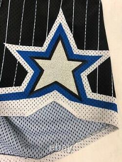 Vintage Orlando Magic Authentic Champion Shorts Sz 42 NBA Basketball Pin Stripes