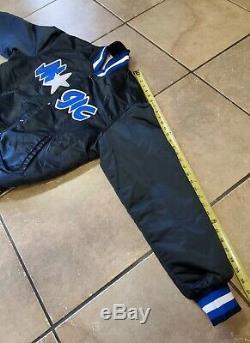 Vintage Orlando Magic Starter Satin NBA Jacket! Mens Size LARGE! Shaq Penny