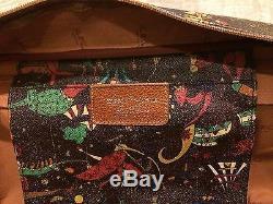 Vintage Piero Guidi Magic Circus Weekender Bag Shoulder Bag Bag