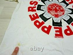 Vintage Red Hot Chili Peppers T Shirt Concert Blood Sugar Sex Magic XL Giant 91
