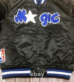 Vintage STARTER NBA Orlando Magic Satin Jacket Large