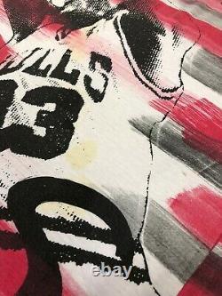 Vintage Scottie Pippen #33 Bulls All Over Magic Johnson Tee's T-Shirt XL 90s NBA