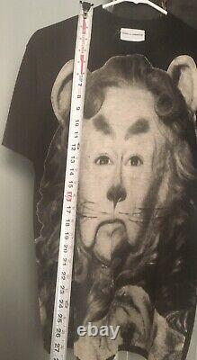 Vintage Stanley Desantis Mens T-shirt Wizard Of Oz, Lion Medium Rare