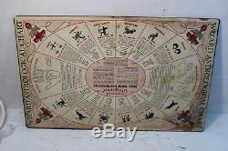 Vintage The Magical Wizard Talking Ouija Board Veda Magic Answer Man Very Rare