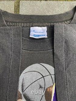 Vintage Vtg Jordan Magic Bulls Lakers Nba Finals 1991 T-shirt Size Medium