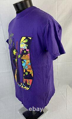 Vintage Wizard Of Oz T Shirt Single Stitch Movie Promo Tee 90s Wicked Witch