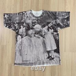 Vintage Wizard of Oz Dorothy Glinda Overprint T-shirt