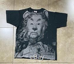 Vtg 1992 Stanley Desantis Sz XL Wizard Of Oz Cowardly Lion Single Stitch T Shirt