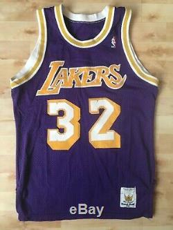 Vtg 80s MAGIC JOHNSON MacGregor SAND KNIT Jersey LA LAKERS NBA USA Basketball