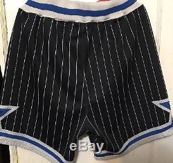 Vtg Champion Orlando Magic Pro Cut Team Issued Game Shorts Men Size 42 L Worn
