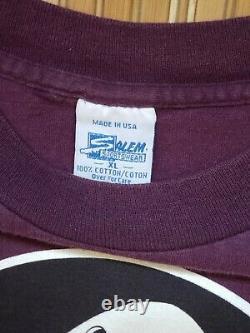 Vtg Mighty Ducks Shirt Magic Johnson Ts All Over Print XL 90s Graphic NHL 1994