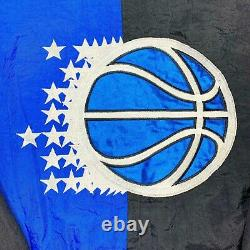 Vtg Rare NBA Orlando Magic Color Block Starter Jacket. Mens Medium