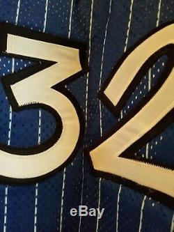 Vtg Rare NBA Orlando Magic Shaquille O'Neal Authentic Champion NWOT Jersey Sz 48