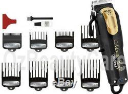 Wahl 5 Star Magic Clip Black/Gold Cordless Clipper+Finale Shaver Lithium Ion+Bag