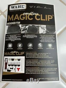 Wahl 5 Star Series 8148 Cordless Magic Clip