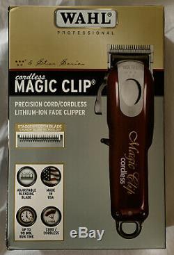 Wahl 5 Star Series 8148 Cordless Magic Clip EU Plug