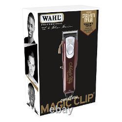 Wahl 8148 & 8081 5 Star Series Magic Clip Cordless Clipper & Detailer Combo Set