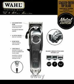 Wahl Magic Clip Metal Edition #8509 Professional 5-Star Cordless, Refurbished A