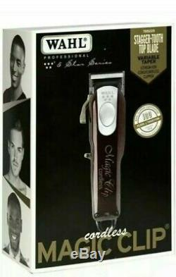 Wahl Professional 5-Star Cord/Cordless Magic Clip #8148 NEW SHIPS NOW PRIORITY