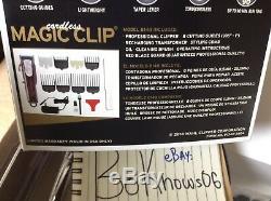 Wahl Professional 5-Star Magic Clip Cord/Cordless #8148 Fade Clipper 100-240V AC