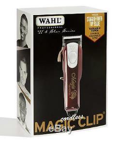 Wahl Professional 5 Star Series Cordless Magic Clip #8148 Fade Clipper Barber