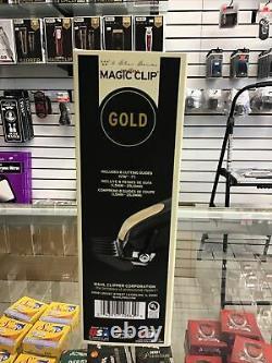 Wahl Professional 5-Star Series Cordless Magic Clip Black & Gold- Free Comb
