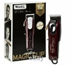 Wahl Professional 5-Star Series Cordless Magic Clip Hair Clipper NEXT-DAY SHIP
