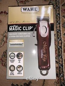 Wahl Professional 5-Star Series Magic Clip Cordless Hair Clipper 8148 (EU PLUG)