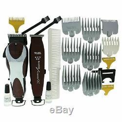 Wahl Professional 5-Star Unicord barber clipper Combo 8242 Magic Clip & Edger
