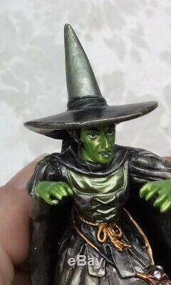 Westland The Wizard of Oz Set Dorothy Lion Witch Scarecrow Tin Man Pewter Metal