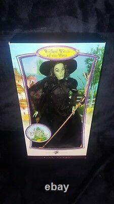 Wizard of Oz Barbie Wicked Witch Dorothy Glinda Lion Tin Man Scarecrow Munchkins