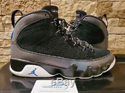 Worn 1X Nike Air Jordan 9 Retro SZ 11 Racer Blue Magic CT8019-024 Fast Ship
